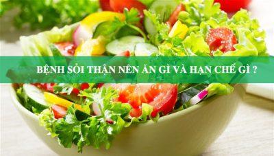 Bị sỏi thận nên hạn chế ăn gì?